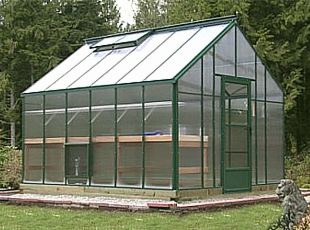 Cottage Polycarbonate Greenhouse